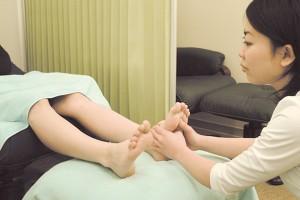 脚のリラクゼーション